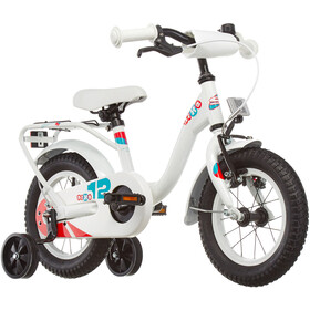 s'cool niXe 12 Acero Niños, white/blue/red